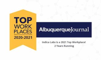 Press Release: Indica Labs earns Work/Life Flexibility award and is named a Top Workplace by The Albuquerque Journal for the second year running